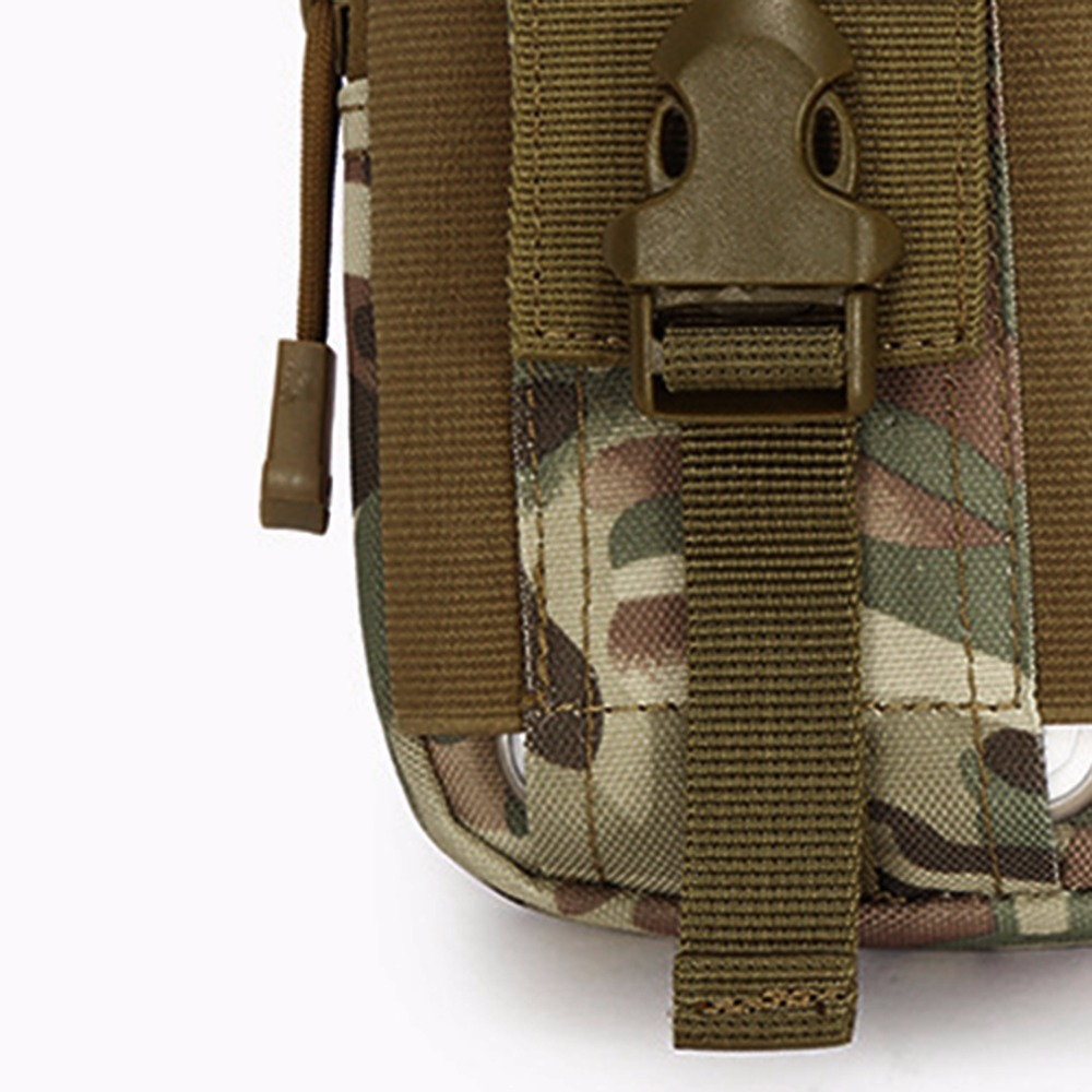 1000D Nylon Outdoor Tactical Waist Fanny Pack Belt Bag EDC Camping Hiking Travel Sports Pouch Wallet Phone Bag Drop Shipping in Climbing Bags from Sports Entertainment