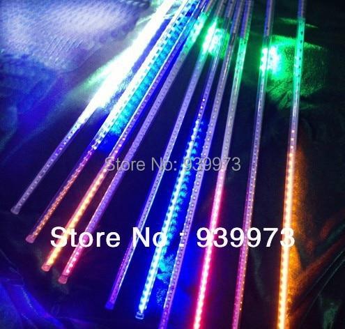 ФОТО free shipping 50cm long Singal colour LED falling star light/LED shooting star light 10 pieces/SET