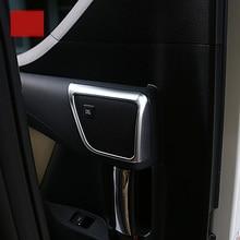 lsrtw2017 car styling car door sound trim for toyota alphard toyota vellfire 2015 2016 2017 2018