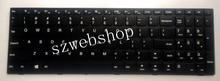 Neue für lenovo ideapad 110-15isk englisch us laptop tastatur keine hintergrundbeleuchtung mit rahmen schwarz