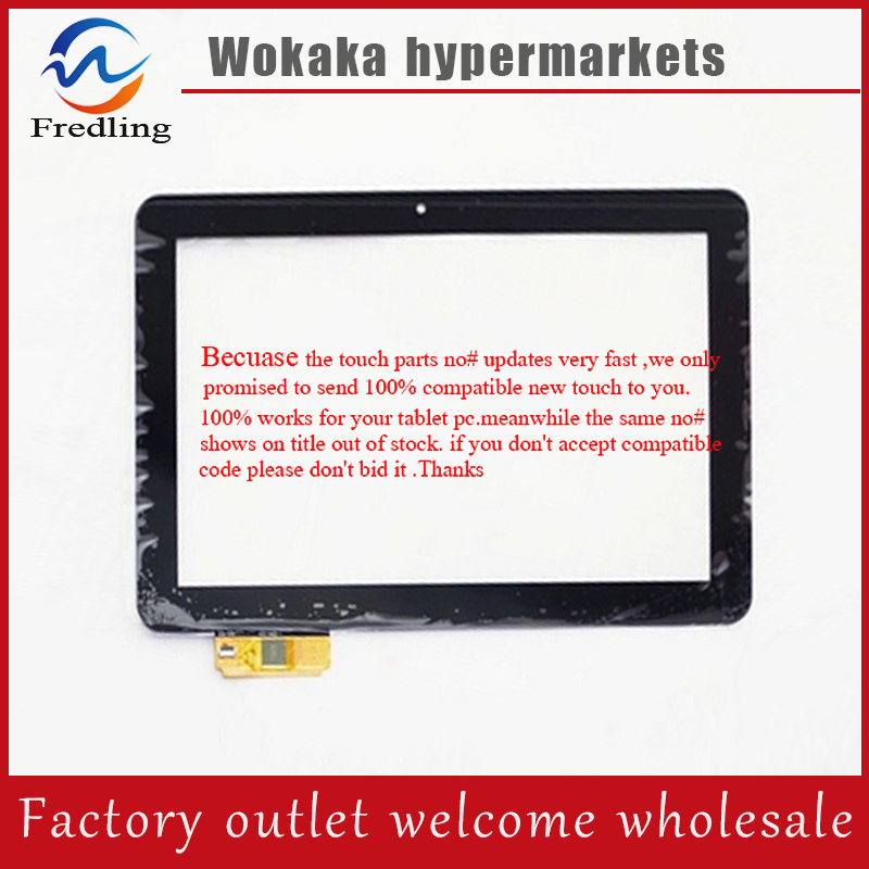 Original New 10.1inch DNS AirTab M100 Tablet touch screen panel Digitizer Glass Sensor for free shipping new 7 inch tablet capacitive touch screen replacement for dns airtab m76 digitizer external screen sensor free shipping