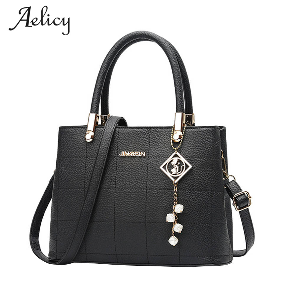 Aelicy High Quality Women's Leather Handbags Luxury Designer Lady Tote Large Capacity Zipper Handbag for Women Bolsas aelicy women s leather handbags female shoulder bag luxury designer lady tote large capacity zipper handbag for women bolsas