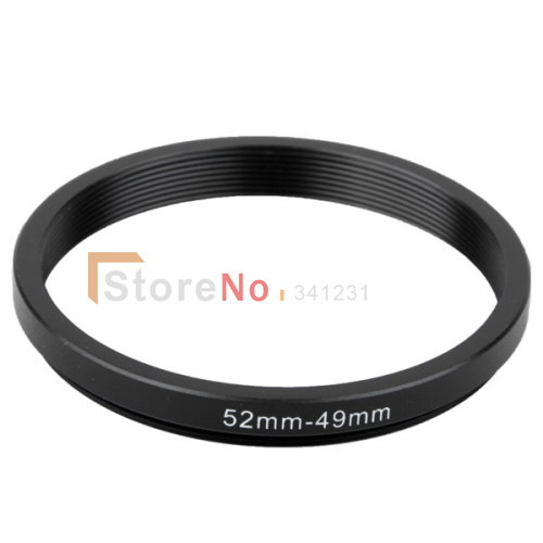 New 52mm-49mm52-49mm 52 to 49 52MM to 49MM Step Up Ring Filter Adapter
