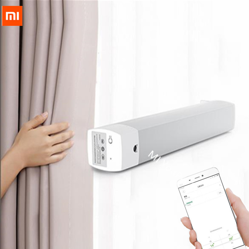 New Original Xiaomi Aqara Curtain motor with Curtain curtain Controler Zigbee wifi work For xiaomi smart