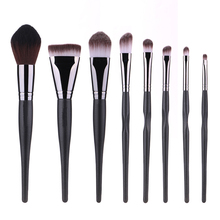 Bella Cullen 8pcs Makeup brushes set Soft Synthetic Hair Nature hair Brush Pro Kit with cosmetics bag hair cosmetics