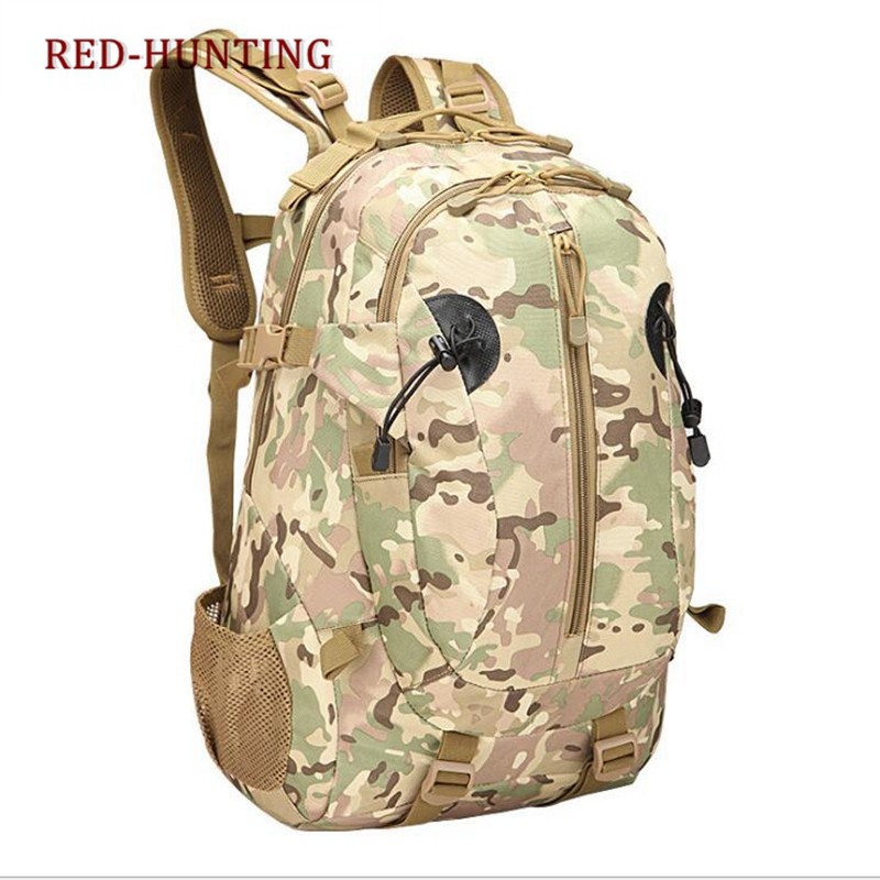 Durable 40L Outdoor Camping Hiking Shoulder Bag MOLLE Backpack Trekking Rucksack