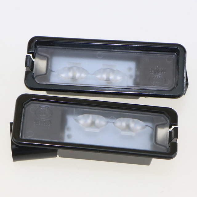 2 Unids OEM Original Luz de la Matrícula del LED Fit VW Golf MK6 Passat B7 MK7 Scirocco Polo CC 35D 943 021 Un 6R 35D 943 021 Un