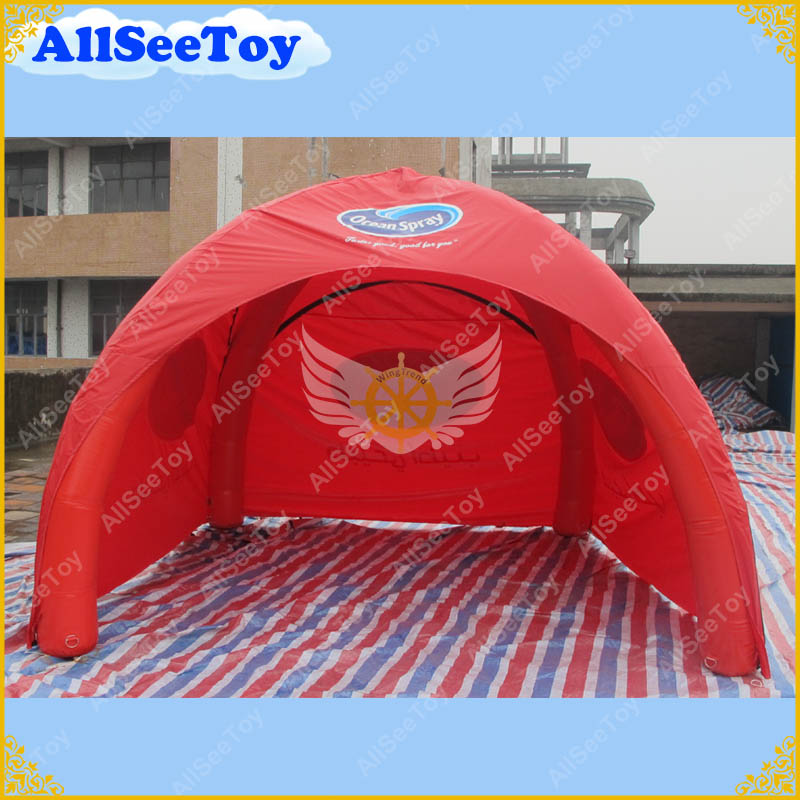 PVC Red Inflatable Dome Tent with Removable Side PanelsAir Pump IncludedFree Shipping-in Toy Tents from Toys u0026 Hobbies on Aliexpress.com | Alibaba Group  sc 1 st  AliExpress & PVC Red Inflatable Dome Tent with Removable Side PanelsAir Pump ...