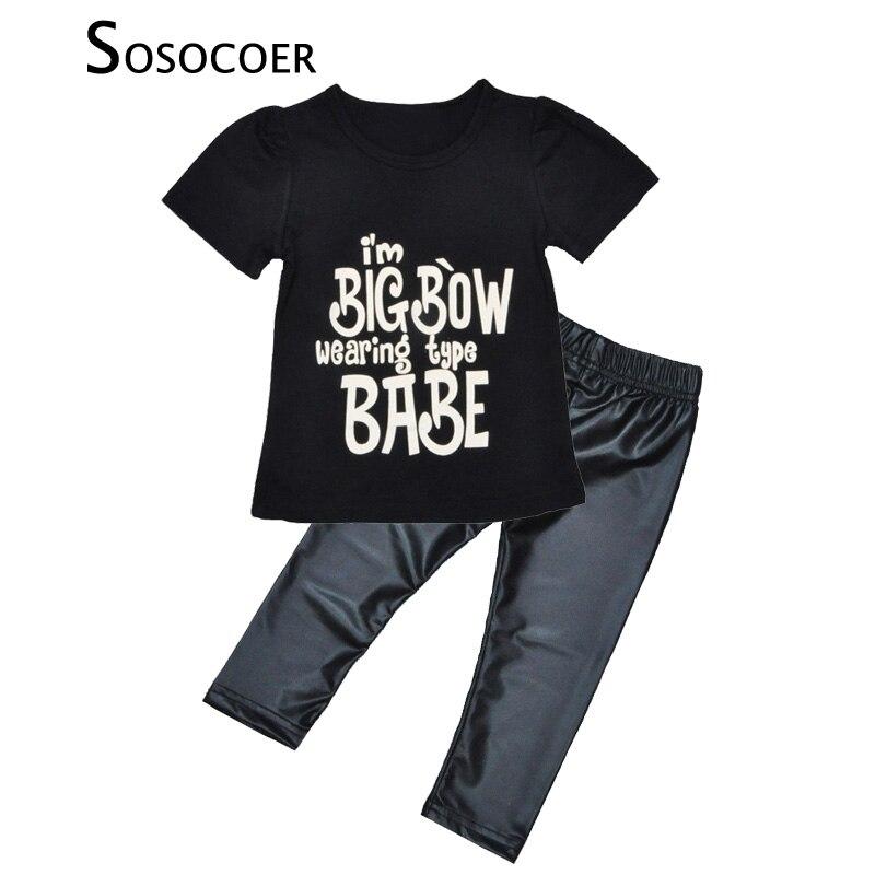 Buy sosocoer toddler girls clothing set for Dark denim toddler shirt