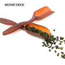 цена на HOMETREE 2PC Multifunction Mini Tea Spoon Kitchen Cooking Teaspoon Condiment Utensil Coffee Teaspoon Tableware Tea Tools H636