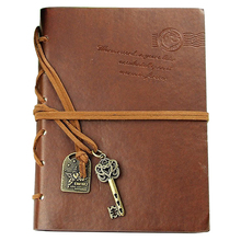 New Notebook 160 sheets (320 pages) Daily Leather Classic Vintage Retro