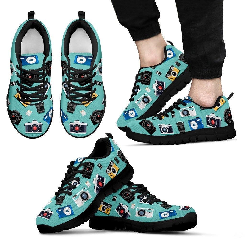 FORUDESIGNS/2018 модные кроссовки печать фотографии Женские повседневные ботинки на шнурках из сетчатого материала для девочек Дамская обувь