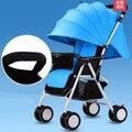 Venta caliente súper ligero cochecito de bebé carro de bebé plegable portátil fácil bebé cesta con la placa de servicio