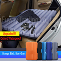 Car Travel Inflatable Mattress Inflatable Bed Camping Back Seat Extended Mattress for Parent-child or Lover (Oxford Gray)