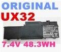 Original de la batería 7.4 v 6520 mah para asus ux32 ux32vd zenbook c23-ux32 batería del ordenador portátil