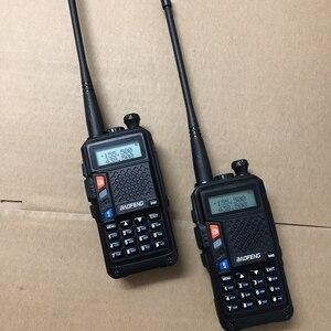 Image 2 - 2019 nouveau talkie walkie R9 double bande 136 174MHZ/400 520MHZ 8W longue distance 10 KM radio bidirectionnelle pour la chasse à la neige