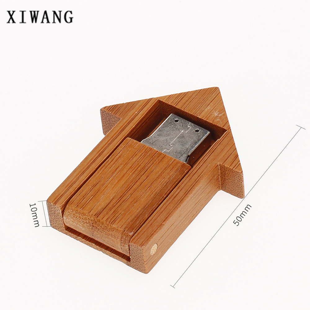 Image 5 - Usb flash drive 2.0 wooden room 4G 8GB pen drive 16G Pendrive 32G 64GB USB memory stick 128gb Bamboo special gift free shipping-in USB Flash Drives from Computer & Office
