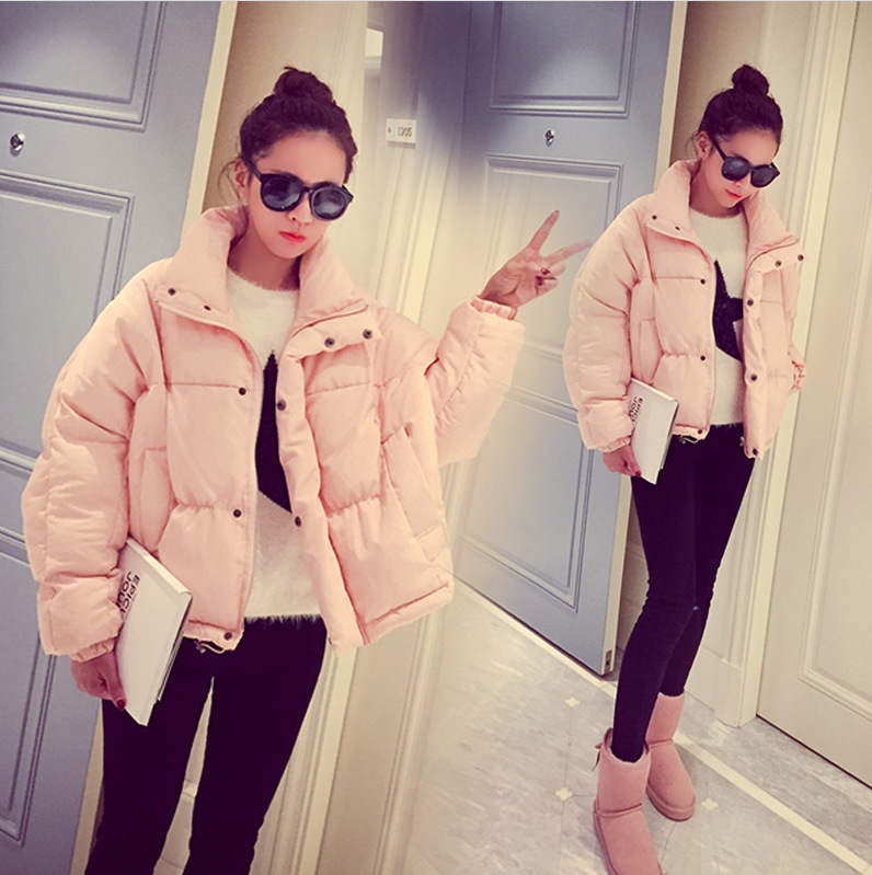 CHICY 2016 Winter Down Jacket Women Short Coat Casual Parkas Thickening Female Warm Clothes High Quality Student Overcoat