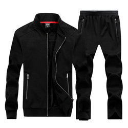 Grote maat 8XL Winter Mannen Sporting Pak Truien Jas + Broek Sweatsuit Tweedelige Set Trainingspak Sportkleding Dikke Voor Mannen kleding