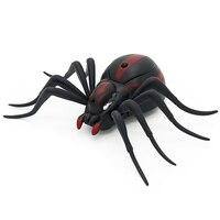 リモートコントロールクモアリcockroachs rc電子赤外線現実的な動物のおもちゃ高シミュレーションいたずらギフト用子