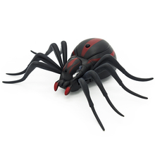 Remote Control Spiders Ants Cockroachs RC Electronic Infrared Realistic Animals Toys High Simulation Prank Gift for Children