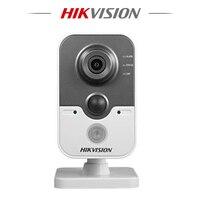 Hikvision Hik DS 2CD2442FWD IW Mini Wireless IP Camera 1080P POE 4MP IR Cube Camera Wifi