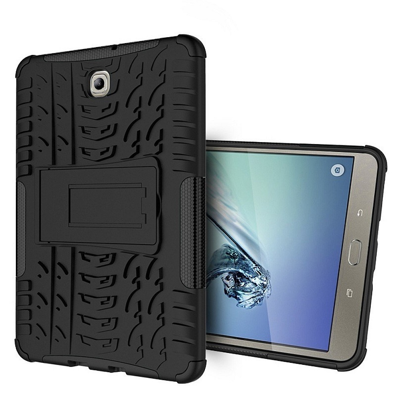 Silicone Tablet Cover For Galaxy Tab S2 SM-T715 8.0 Rugged Shockproof Stand Case For Samsung Tab S2 8.0inch SM-T710 Tablet kiind of new white women s size small s sheer textured sleeveless blouse $39