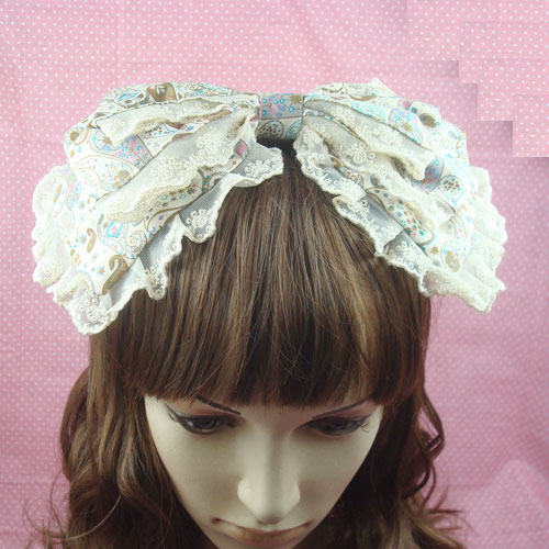 Sweet lolita princess headband royal vintage hair accessory princess headband hair accessory  cos hair band bow customize