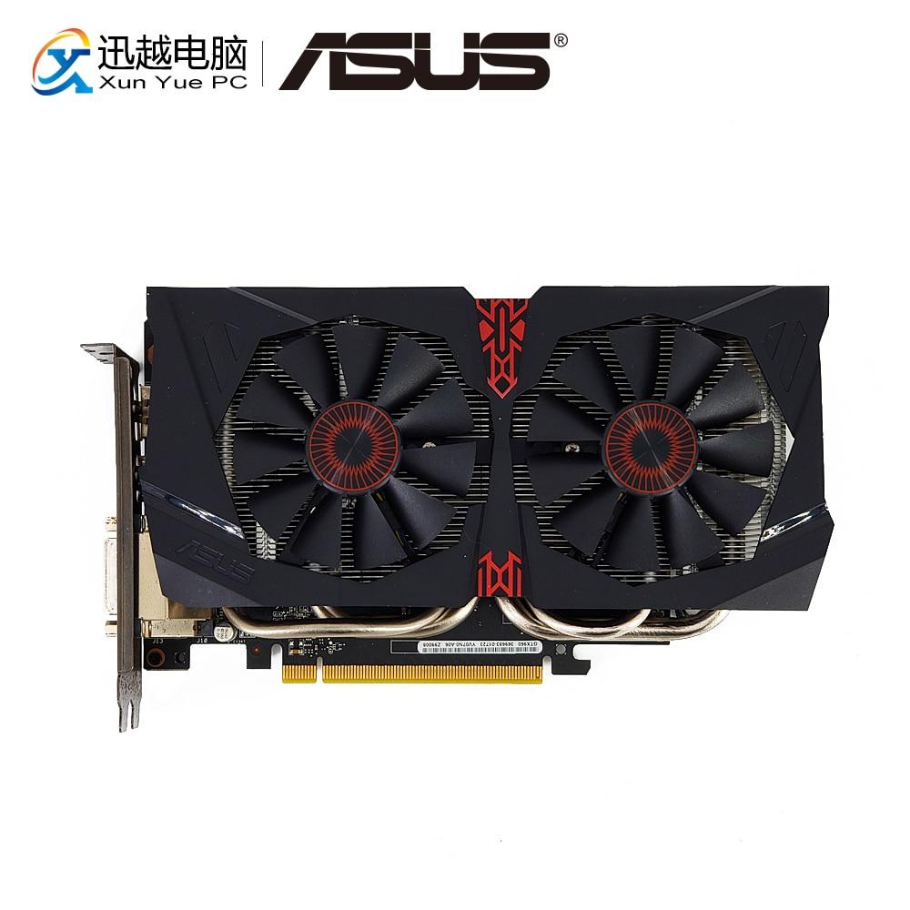 ASUS STRIX-GTX960-DC2OC-2GD5 D'origine Cartes Graphiques 128 Peu GTX 960 GDDR5 Carte Vidéo DVI HDMI DP Pour Nvidia Geforce GTX 960