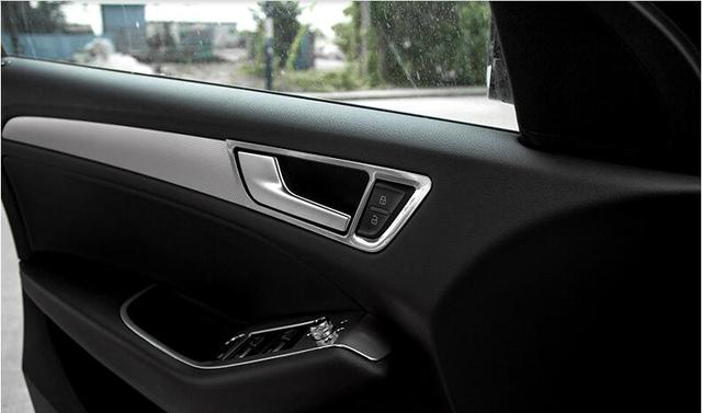 Interior Door Handle Bowl Cover Trim 4pcs For Audi Q5 2008 2015 2008