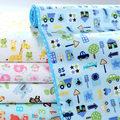 [Mumsbest] 3 Слоев Бамбука Изменение Колодки Новорожденный Пеленания Для Новорожденных Детская Кровать Водонепроницаемый Пеленания Для Кроватки