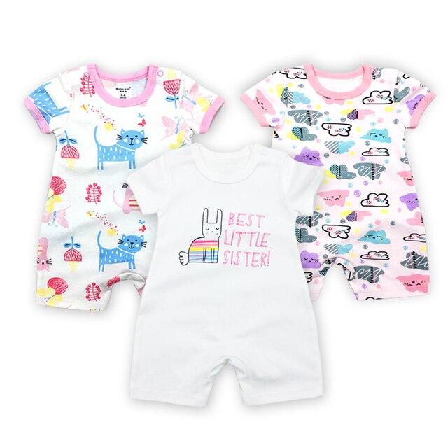 1adbd2e8c 3 Pieces lot Baby Clothing Fantasia Baby Bodysuit Infant Jumpsuit ...