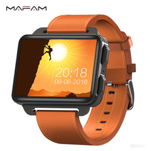 MAFAM DM99 Smart Watch 3G WCDMA Men Women Smartwatch Android 5.1 OS 1GB+16GB Camera Bluetooth Sports Heart Rate Monitor Watch