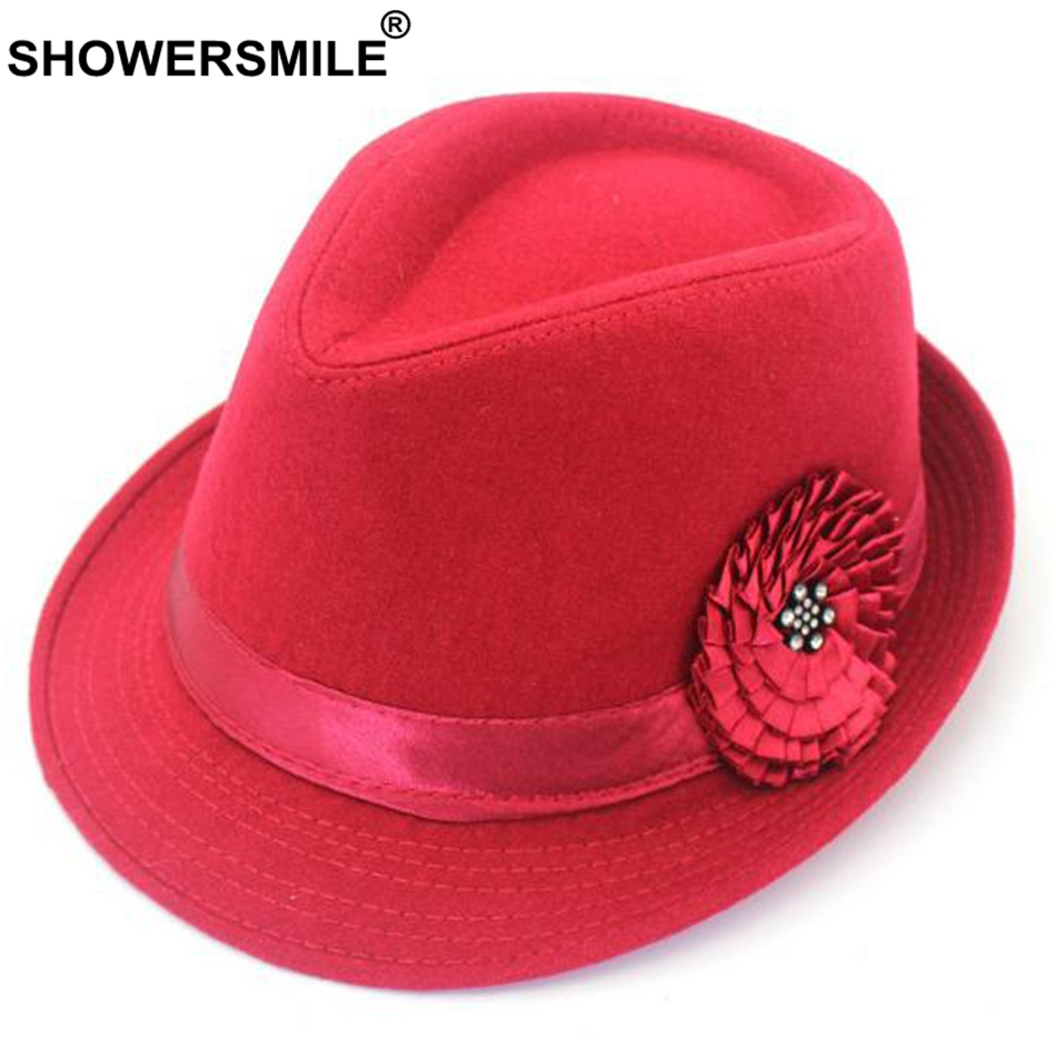 Hat Holiday Gift Beach Women/'s Wool Felt Flowers Elegant Bowler Cloche Bucket