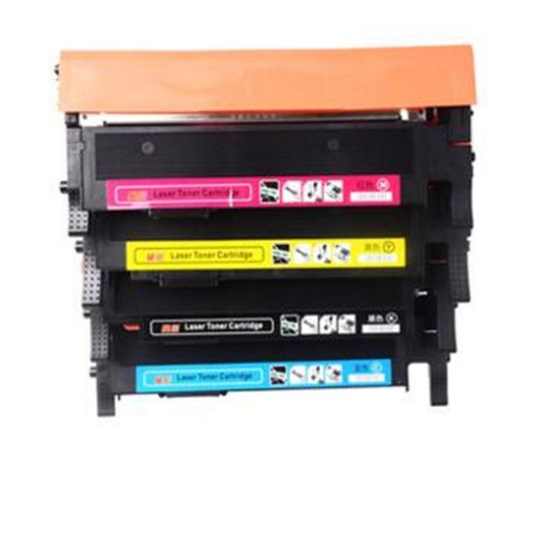 4pcs/lot compatible For Samsung CLT-K406S C406S M406S Y406S 406S 406 Toner Cartridges CLP-365W CLX-3305FW Xpress C410W C460FW clt k406s c406s m406s y406s 406 406s toner cartridges for samsung xpress clp 360 365 365w 366w clx 3305 3305w 3306fn printer