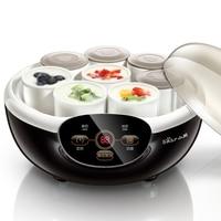 X30 Mini home yogurt machine Natto machine Automatic yogurt maker with 8 ceramic cups 2 portable box 1 Natto basket 20W 1.0L