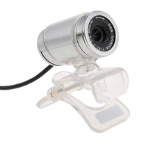 USB2.0 12 Megapixel HD Camera Web Cam with MIC Clip-on 360 Degree USB 2.0 for Desktop Skype Computer PC Laptop Transparent(China)