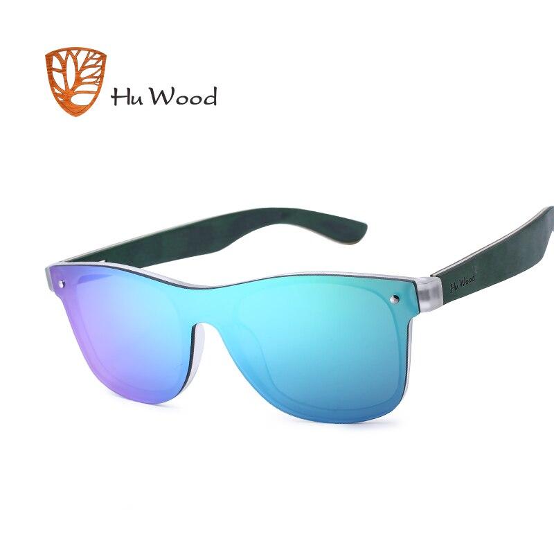 d156d5748e Hu madera 2018 nueva llegada mujeres plástico Marcos Gafas de sol madera  auriculares rectángulo sombras polarizadas Sol Gafas para hombres GR8021