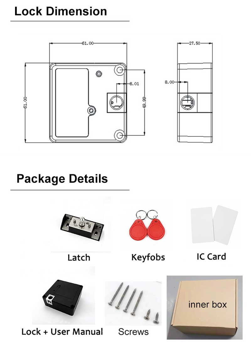 HTB1h4S aBSD3KVjSZFqq6A4bpXaA Smart Electronic Hidden RFID Cabinet Lock No Hole Easy Installation Furniture Locker Wardrobe Shoe Cabinet Drawer Door Lock With Two Cards/Keytags