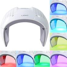 Dispositivo para rejuvenecimiento de la piel, mascarilla Facial PDT con luz LED de fotones, rejuvenecimiento de la piel, elimina el acné, contra las arrugas