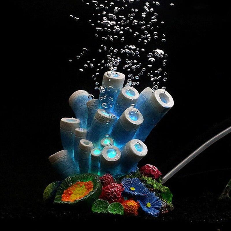 pawstrip Simulation Coral Fish Tank Decoration Artificial ...