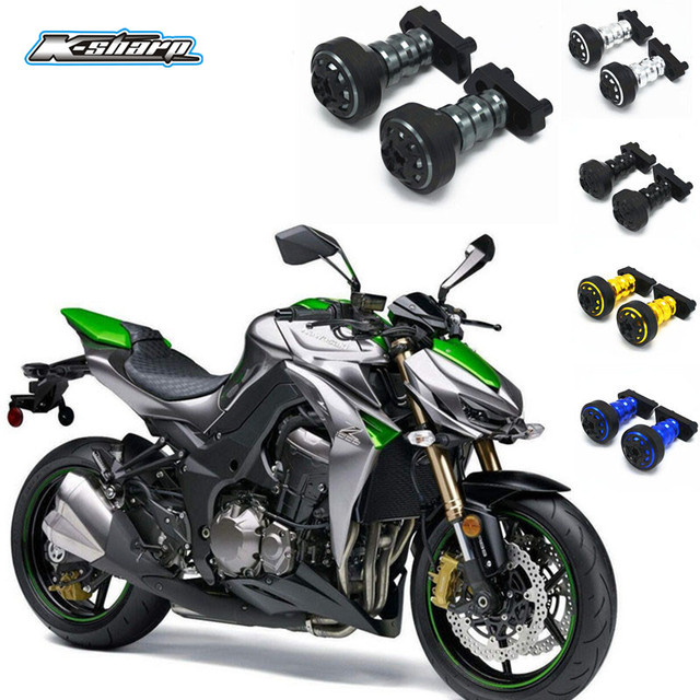 Sale For Kawasaki Z1000 Sxmotorcycle Frame Sliders Falling