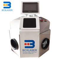 Jewelry gold and silver laser spot welder 200W stainless steel ring repair denture glasses frame welding machine
