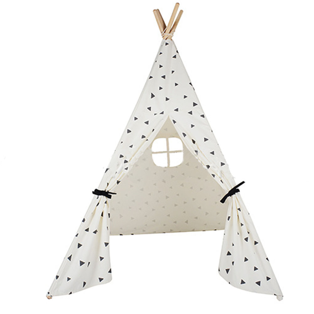 Fashion Kids Dream Tent Foldable White Kids Cotton Play Tent Washable Canvas Play House Indoor Toys Games Teepees for Children hot sale 1000g dynamic amazing diy educational toys no mess indoor magic play sand children toys mars space sand