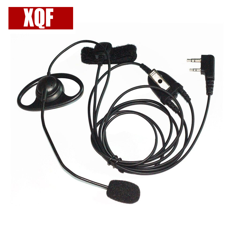 XQF Ear Hook Earpiece For Kenwood Radios TK-3207 TK-3107 TK-2207 TK-2107 TK-378G Etc.
