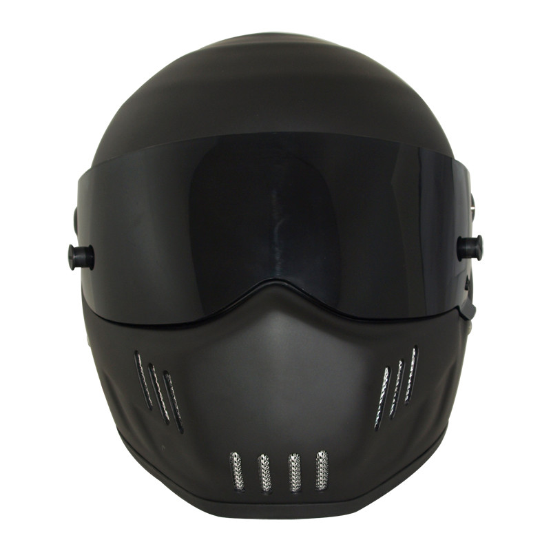 Matte Black Fiberglass USA DOT Approved  Motocross Helmets Warm Windproof Sand Dust Proof Flip Up Moto Helmet bd40 warm sand