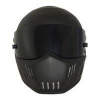 Matte Black Fiberglass USA DOT Approved Motocross Helmets Warm Windproof Sand Dust Proof Flip Up Moto Helmet