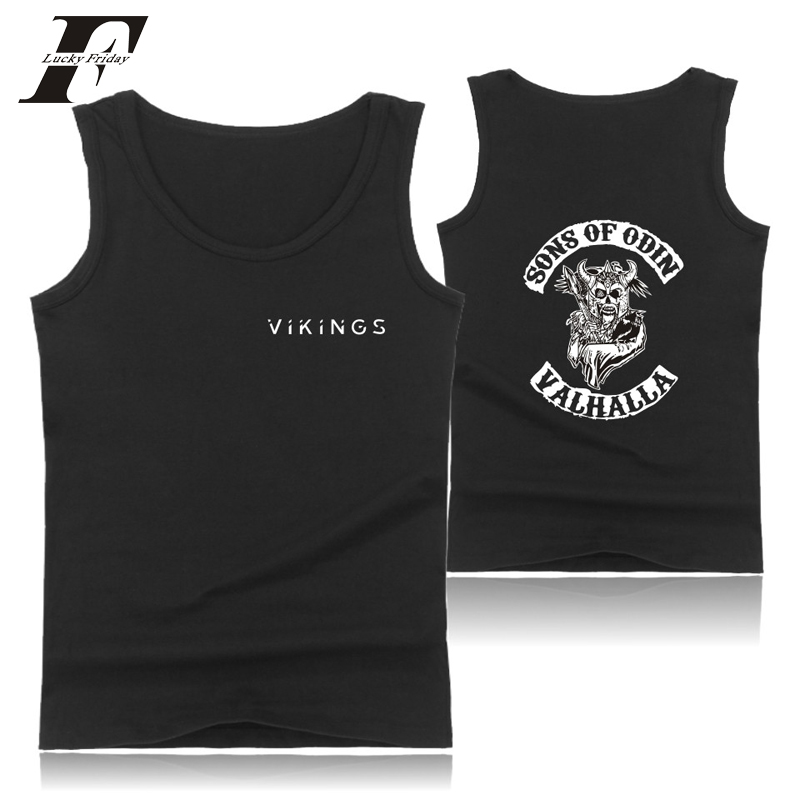 Men's Clothing Disciplined Luckyfridayf 2018 Bts Sons Of Odin Valhalla Bodybuilding Tank Tops Men Black O-neck Tank Top Mens Hip Hop Vikings Casual Cheapest Price From Our Site