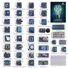 SunFounder 37 Modules Sensor Kit V2.0 for Arduino UNO R3 Mega2560 Mega328 Nano & MCU Education User