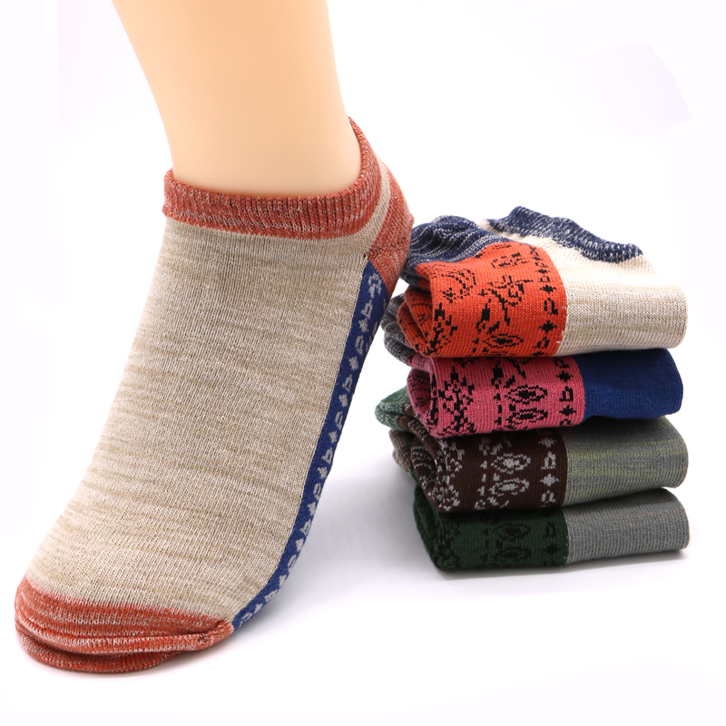 1Pairs Man Dress Socks Summer Casual Male Low Cut Ankle Socks Slippers Shallow Mouth Men ...